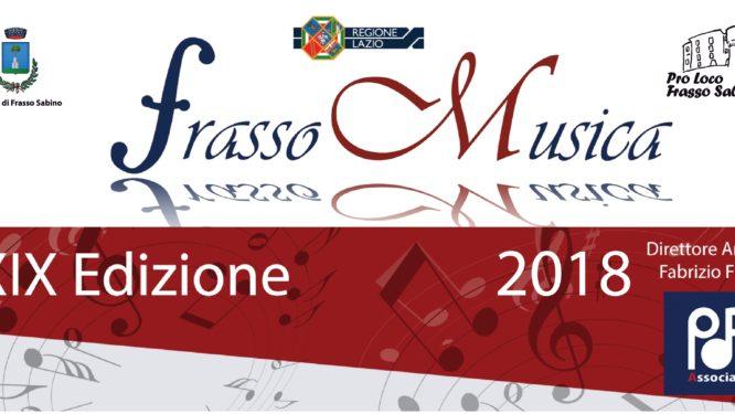 Frasso Musica 2018 (Testata)